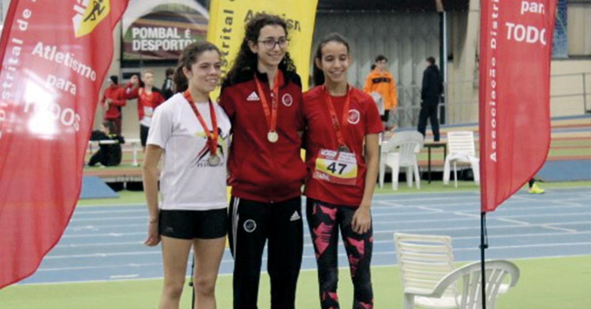 Atletas das Pedreiras em destaque no atletismo