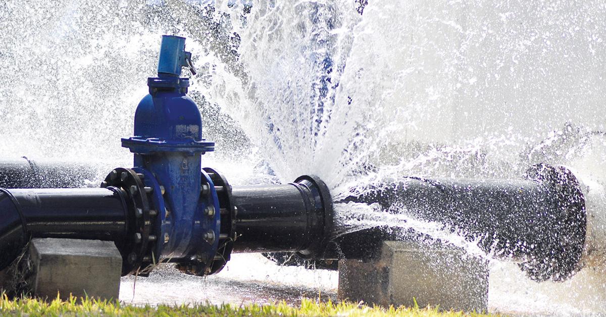 O combate às fugas de água é prioridade
