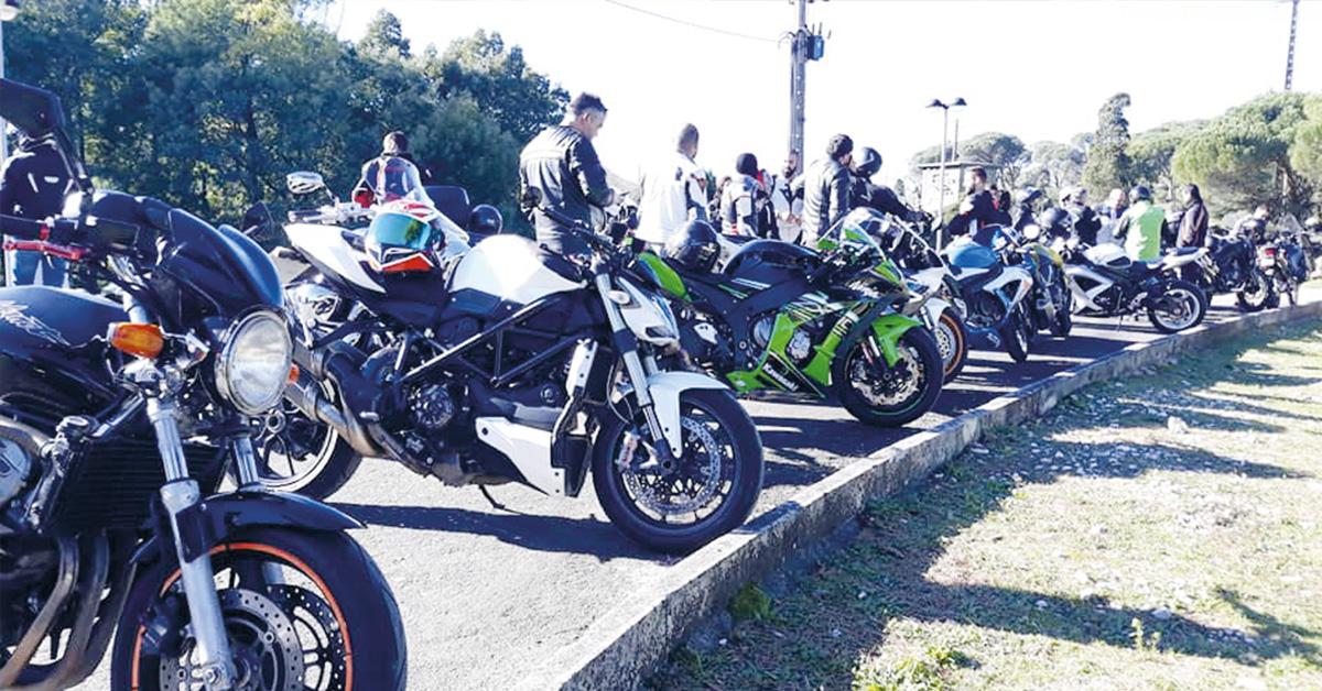 """Calvaria de Cima: Grupo motard """"100Rodas"""" promove primeiro passeio"""