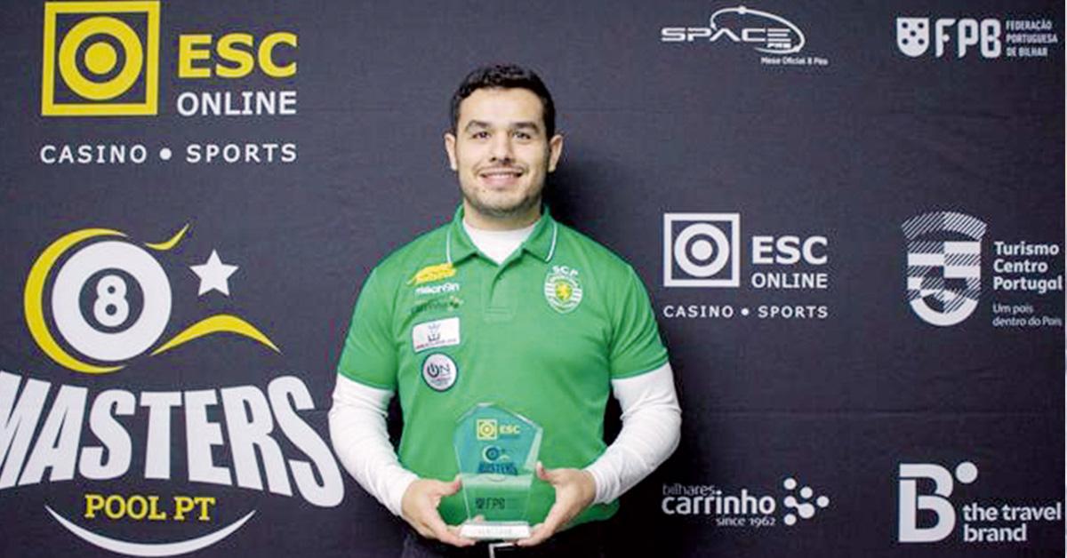 João Grilo foi o vencedor do Masters Pool em Mira de Aire