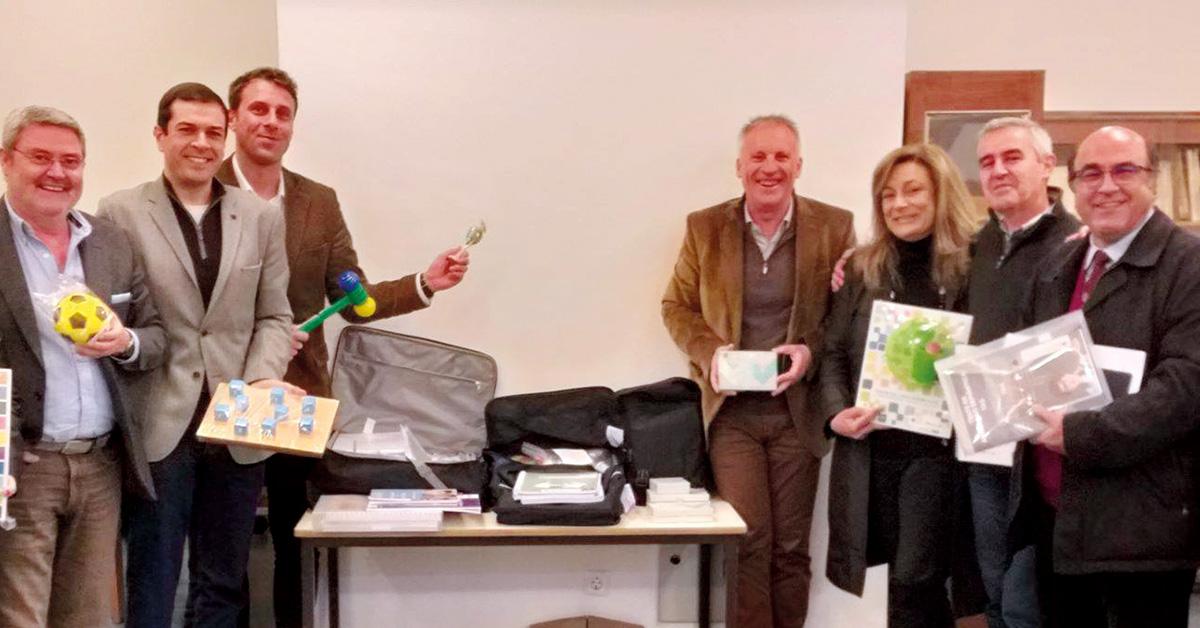 Porto de Mós recebe kits pedagógicos