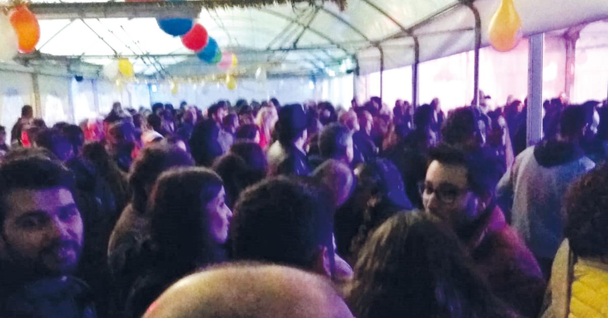 Dois a três milhares de pessoas a festejar na viragem do ano