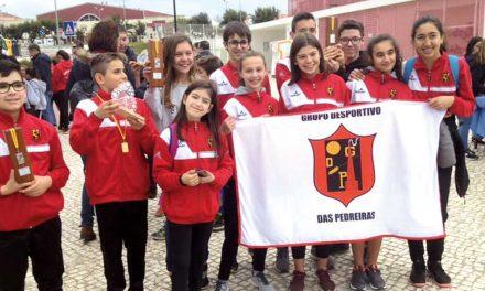 Atletas do Grupo Desportivo das Pedreira destacam-se