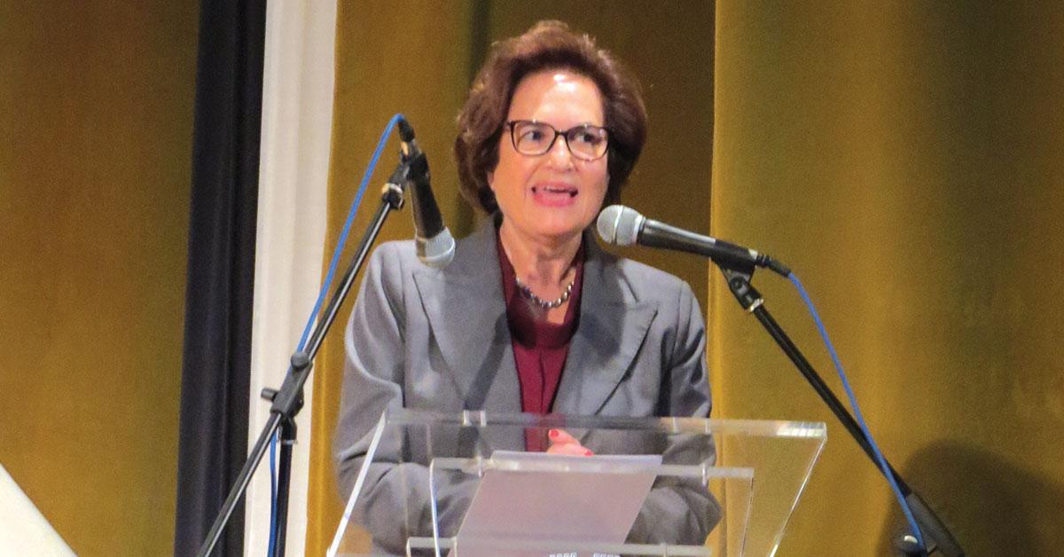 Isabel Damasceno defende em palestra: «As mulheres devem apostar tudo na sua educação»