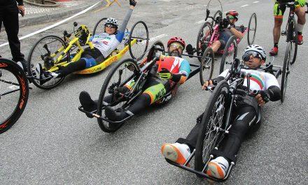 Paraciclistas voltam a brilhar nas ruas da vila