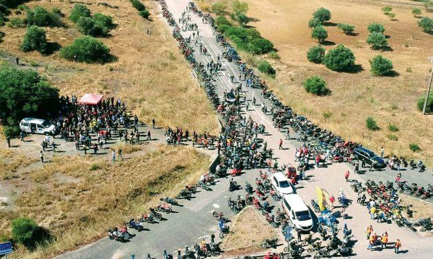 Meio milhar de motas em Serro Ventoso