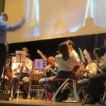Banda Portomosense realiza concerto pedagógico