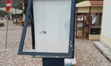 Vandalismo em Porto de Mós e Mira de Aire não dá tréguas