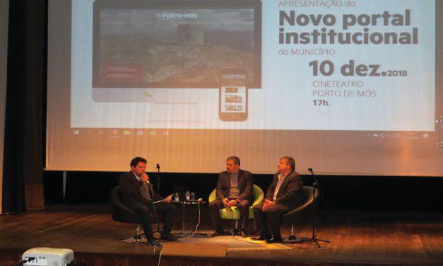 Site do Município de Porto de Mós é o terceiro mais acessível