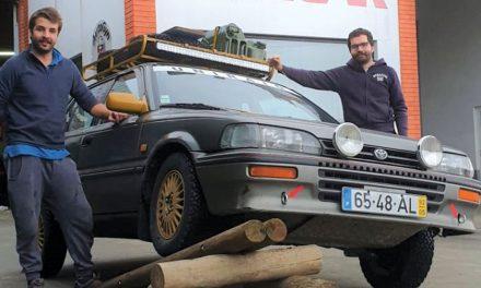 """""""Bigodes do Deserto"""" partem para Marrocos com o carro cheio"""