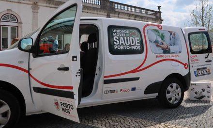 Município antecipou entrega da Unidade Móvel de Saúde ao Centro de Saúde de Porto de Mós