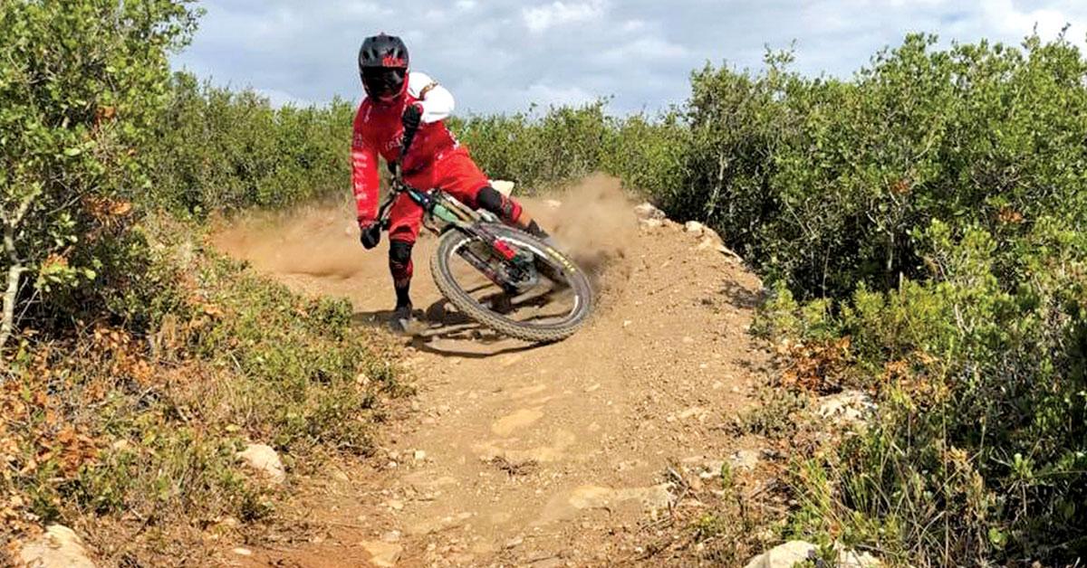 Márcio Ferreira, o Golias das bicicletas