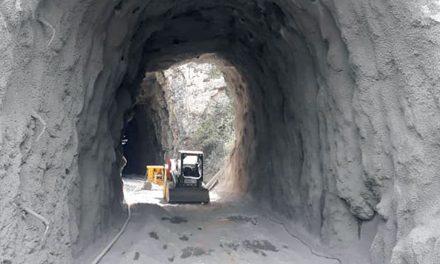 Intervenção nos túneis da Ecopista gera polémica e acusações mútuas