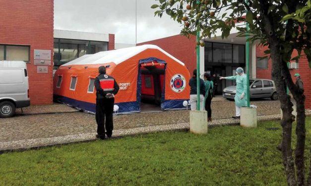 Os bastidores da Área Dedicada à COVID-19 em Porto de Mós