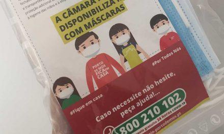 Porto de Mós: 16 mil munícipes já levantaram ou pediram o kit de máscaras