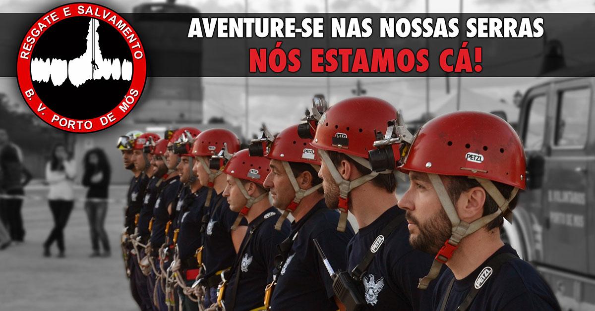 Equipa de resgate dos Bombeiros Voluntários de Porto de Mós atua nos cenários mais complexos
