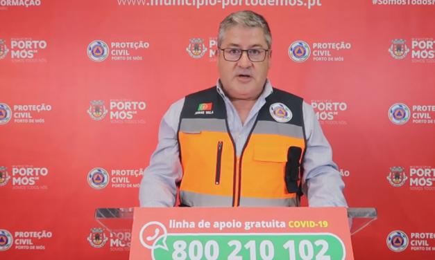 COVID-19: Comunicado do Presidente da Câmara Municipal de Porto de Mós (04/06/2020)