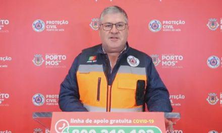 COVID-19: Comunicado do Presidente da Câmara Municipal de Porto de Mós (10/05/2020)