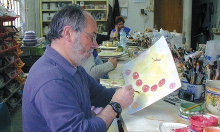 A arte de pintar cerâmica