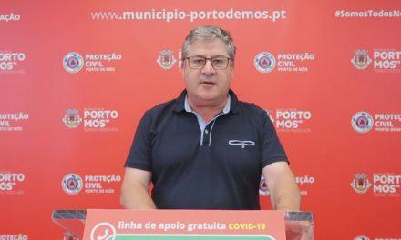 COVID-19: Comunicado do Presidente da Câmara Municipal de Porto de Mós (28/06/2020)