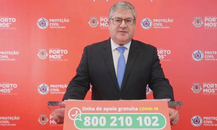 CORONAVÍRUS COVID-19: Comunicado do Presidente da Câmara Municipal de Porto de Mós (22/02/2021)