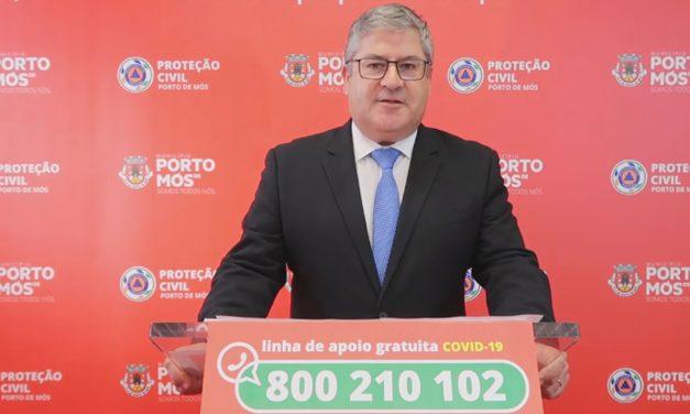 COVID-19: Comunicado do Presidente da Câmara Municipal de Porto de Mós (19/06/2020)