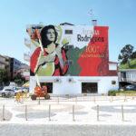 Há 100 anos nasceu Amália e, em 2020,  Porto de Mós ganhou um mural em sua homenagem