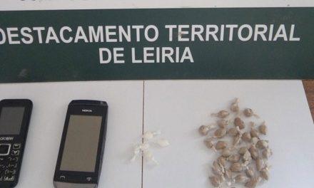 Suspeito de tráfico de droga detido em Porto de Mós com 150 doses de heroína