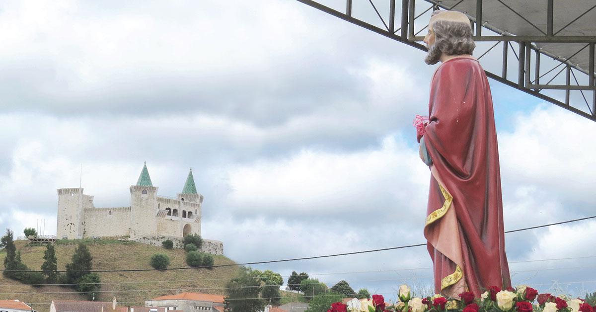 São Pedro peregrina pelo concelho e mobiliza portomosenses