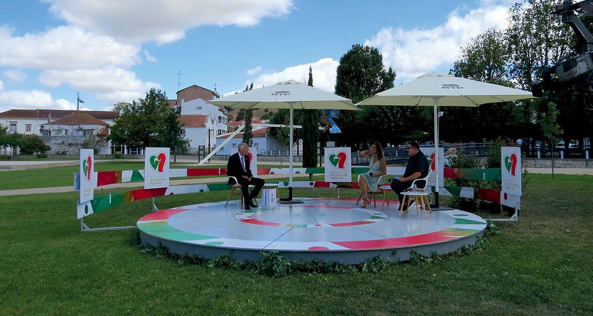 """Porto de Mós acolheu programa das """"7 Maravilhas da Cultura Popular"""""""
