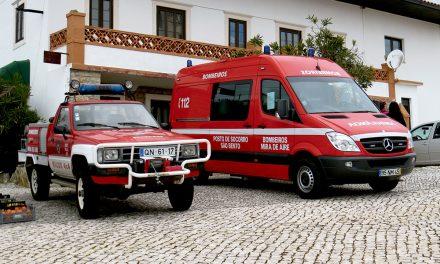 Câmara apoia bombeiros e ASSV São Jorge