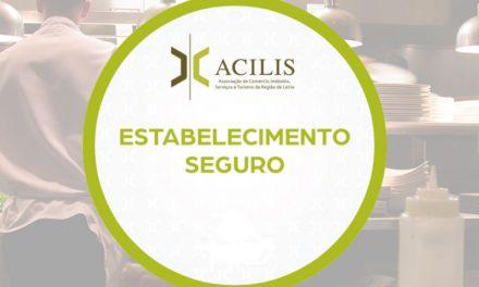 """ACILIS cria Selo """"Estabelecimento Seguro"""""""