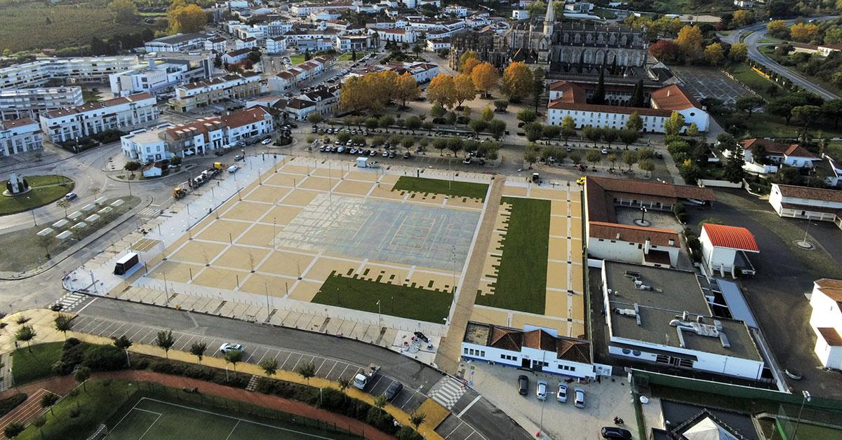 Parque de eventos nasce em antigo campo de futebol da Batalha