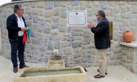 Freguesia de Porto de Mós deu nova vida à Fonte do Livramento
