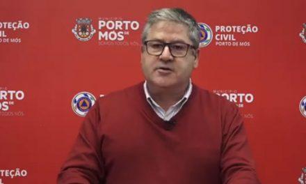 COVID-19: Comunicado do Presidente da Câmara Municipal de Porto de Mós (29/10/2020)