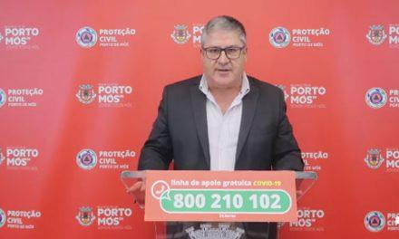 COVID-19: Comunicado do Presidente da Câmara Municipal de Porto de Mós (09/10/2020)