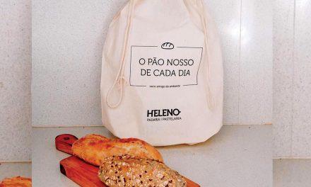 Recuperar a tradição de ir ao pão com um saco de pano