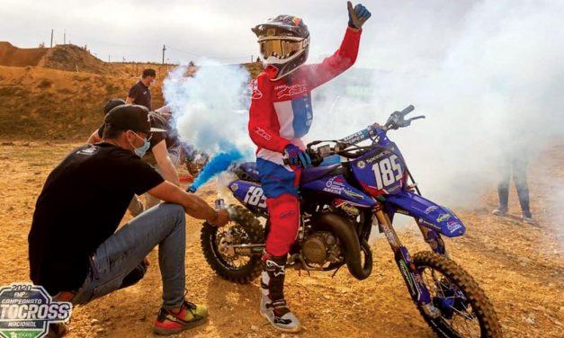 Rodrigo Barros é campeão nacional de motocross