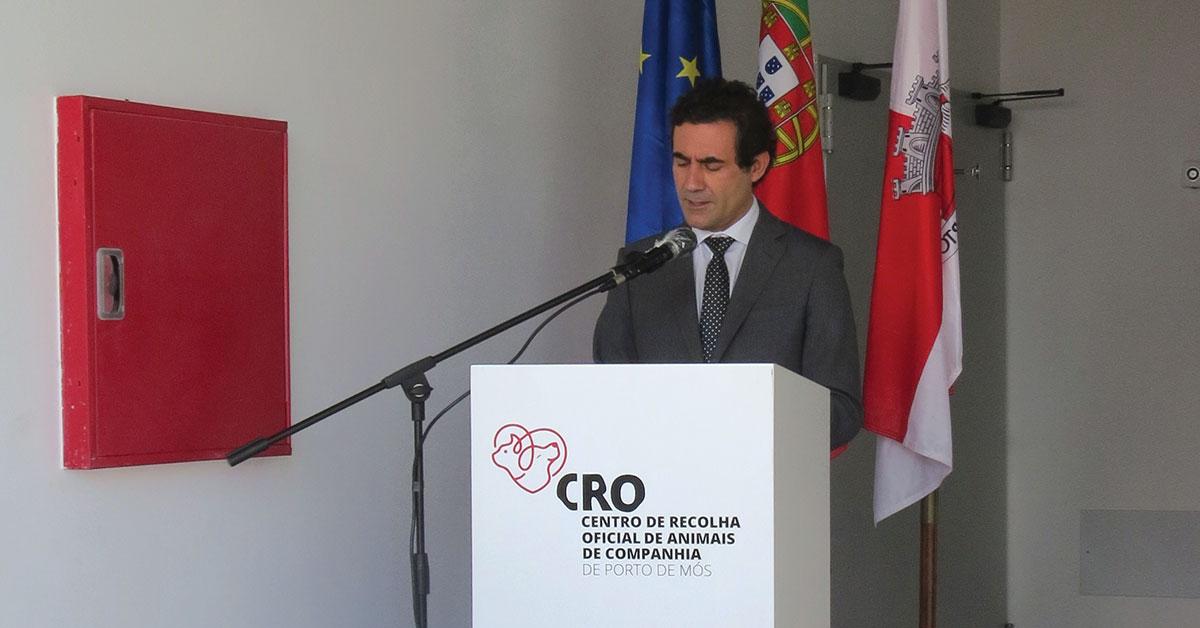 Secretário de Estado inaugurou Centro de Recolha Oficial de Animais de Companhia