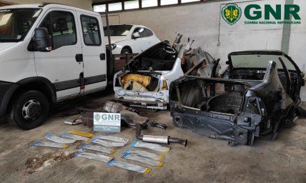 GNR identifica três homens em Serro Ventoso por furto de veículos