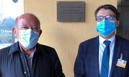 Blocotelha oferece a construção de cobertura no Hospital de Leiria