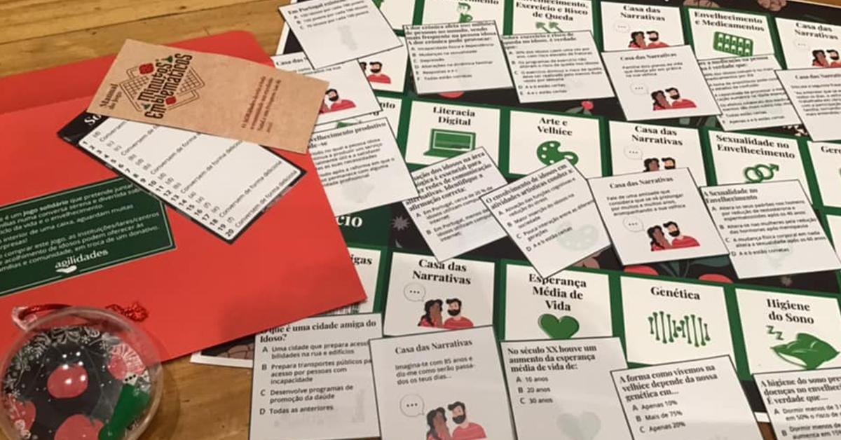 Politécnico de Leiria cria jogo solidário de Natal