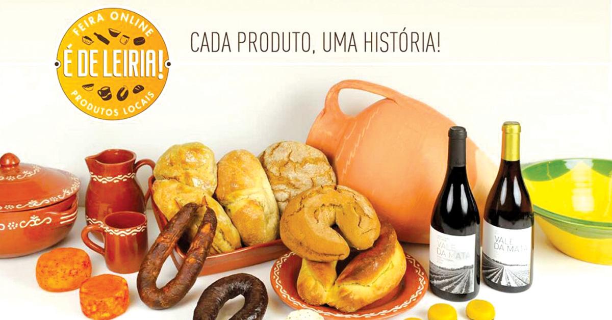 "Município de Leiria promove feira ""online"" de produtos locais"