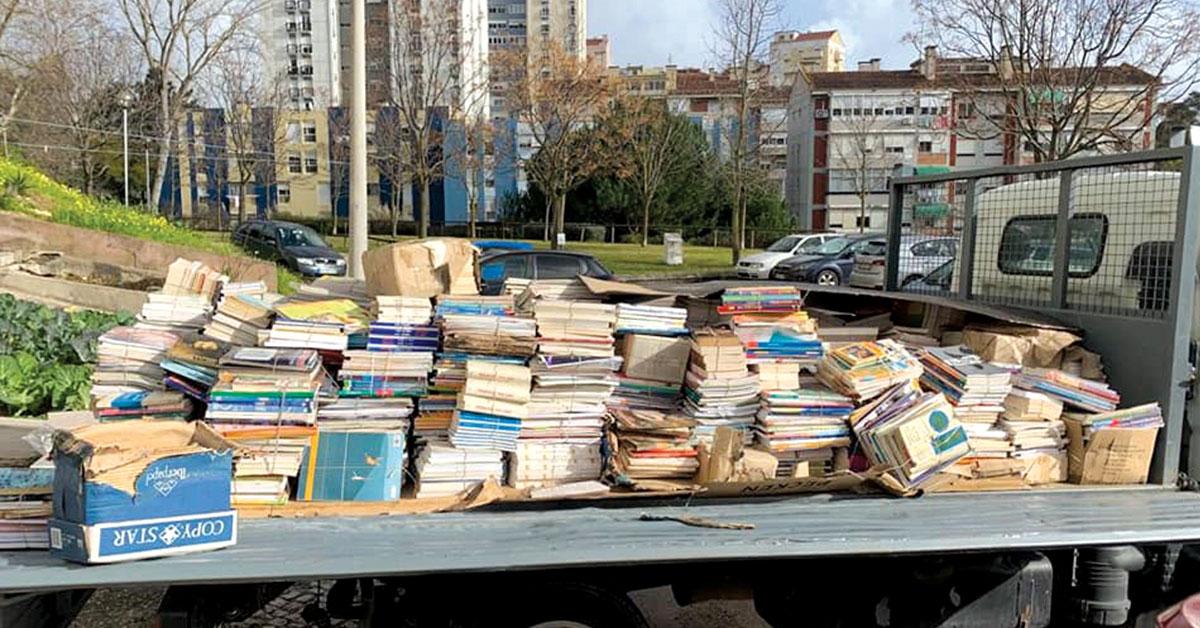Serro Ventoso volta a angariar livros para Angola