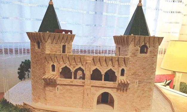 Castelo de Porto de Mós recriado por artista de Coimbra
