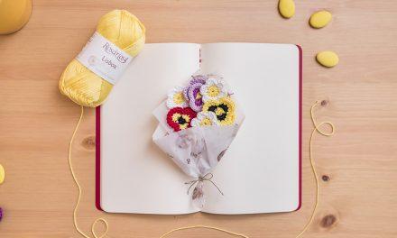 Nova ação da Rosários 4 convida público a fazer flores em tricô e croché