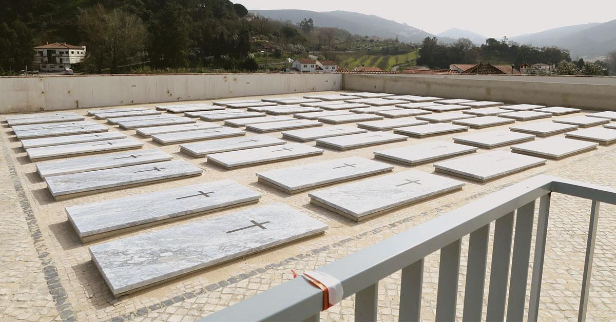 Concluídas obras de ampliação do Cemitério Novo de Porto de Mós