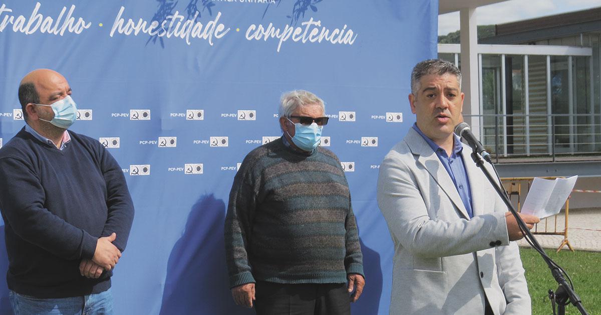 """""""Porto de Mós padece de problemas  que já não deviam existir no século XXI"""""""