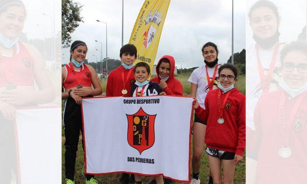 GD Pedreiras em destaque no Campeonato Distrital de Marcha