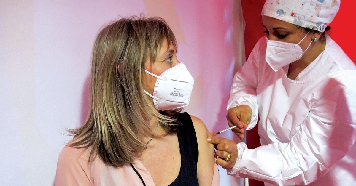 """Vacinação no concelho """"está a decorrer com tranquilidade"""", garante Jorge Vala"""